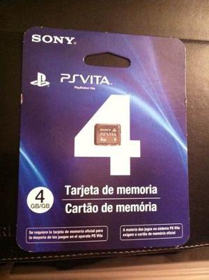 Ps Vita Memoria De 4gb Nueva Sellada