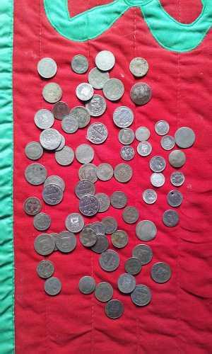 33 Monedas De Estados Unidos De Venezuela + 36 Monedas