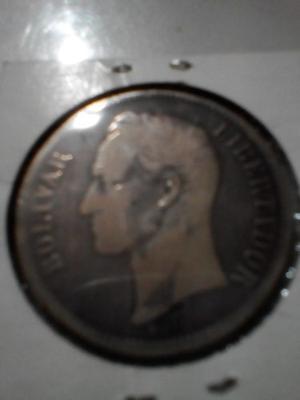 5 Bolivares De Plata Venezuela