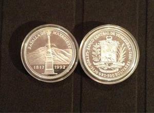 Bcv Moneda Conmemorativa De La Batalla De Matasiete