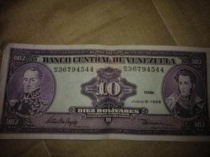 Billetes Antiguos De Venezuela