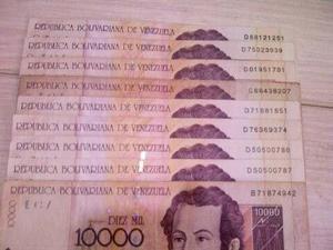 Billetes De  Bolivares Agosto