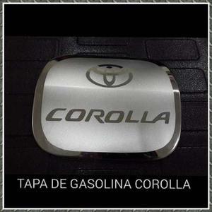 Cobertor Cromado De Tapa De Gasolina Corolla New Sensacion