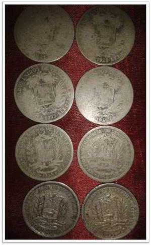 Coleccion De Monedas 1 Bs (incluye 8 Monedas  Hasta