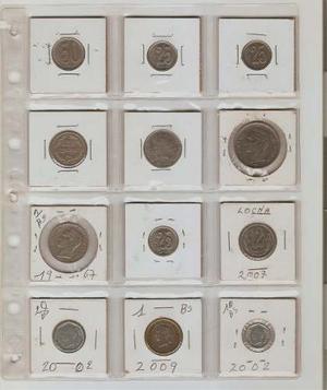 Exelente Set De 12 Monedas De Coleccion.