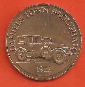 Ficha Carros Antiguos Daniels Town Brougham