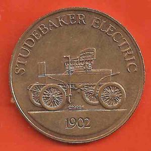 Ficha Carros Antiguos Studebaker Electric