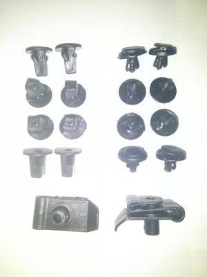 Kit Clip Grapa Broche Guardapolvo Toyota Fortuner Meru Prado