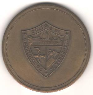 Medalla Primer Congreso De Ondonto-estomatologia