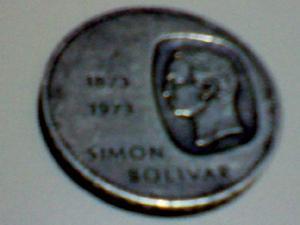 Moneda Conmemorativa Del Centenario Del Libertador (doblón)