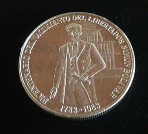 Moneda Conmemorativa Del Nacimiento Del Libertador