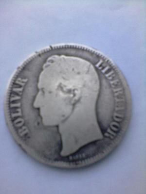 Moneda O Fuerte De Plata Grand 25 Ley 900 Año  Escasa