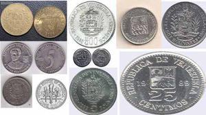 Monedas Y Billetes De Venezuela Y Otros Países
