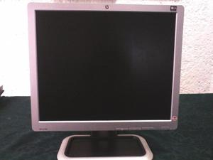 Monitor Lcd De 17 Pulg. Marca Hp Modelo L Usado