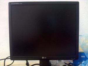 Monitor Lg Flatron 17 Pulgadas Usado En Perfecto Estado