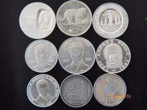 Set De Monedas Conmemorativa