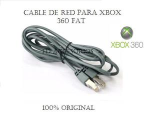 Cable De Red Para Xbox 360 Fat 100% Original Nuevo