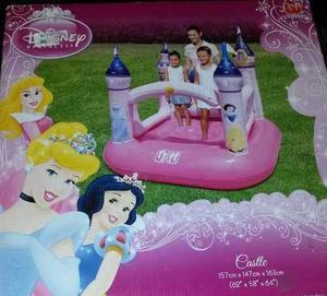 Castillo Inflable Saltarin Para Niñas De Las Princesas