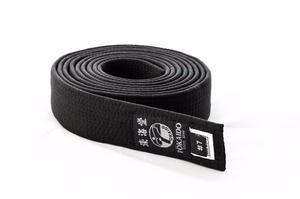 Cinturon Negro Tokaido 4 Cm Hecho En Japon 100% Algodon