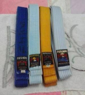 Cinturones De Karate Do Azul Celeste