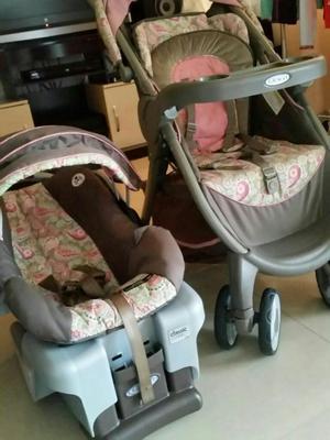 Hermoso coche con silla de bebe marca graco posot class for Coches con silla para bebe