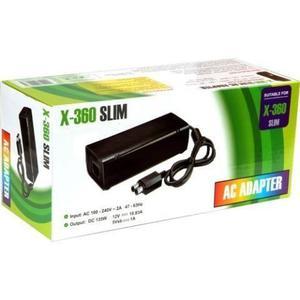 Fuente Poder Xbox 360 Slim Adaptador Y Cable Fuente De Poder