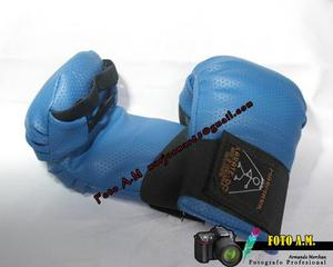 Guantes De Karate Azul Y Rojo Marmark