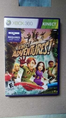 Juego Xbox 360 Kinect Adventures Original
