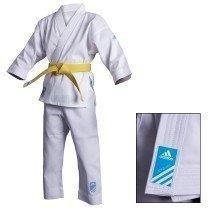 Karategui Adidas Para Principiantes + Cinta Blanca