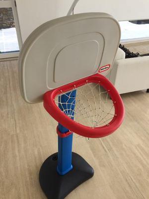 Tablero Cesta Basketball Ajustable Little Tikes Para Niños