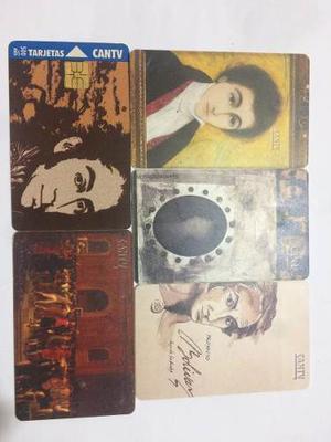 Tarjetas Cantv Colección Simón Bolívar + Dec
