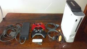 Xbox 360 Blanco Con 2 Controles Cambio O Vendo