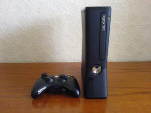 Xbox 360 Slim 4gb Chipeado 1 Control Y 20 Juegos
