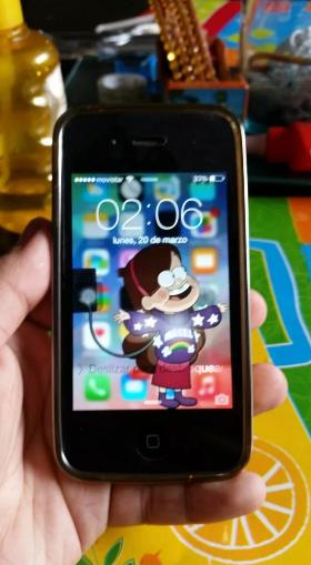 iphone 4g como nuevo sin detalles