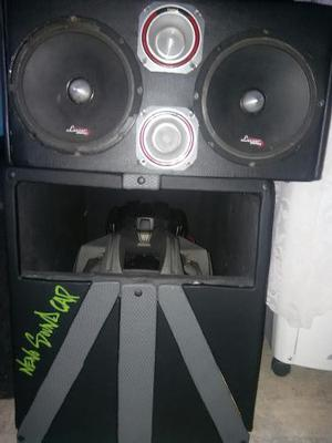 Equipo De Sonido Medios, Twisters Y Bajo