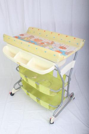 Bañera Cambiador Organizador 3 En 1 Para Bebes
