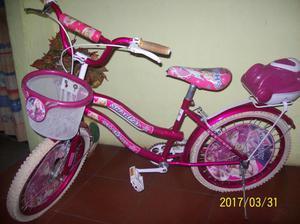 Bicicleta rin 20 para niñas usada en muy buenas condiciones