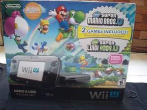 Consola Wii U + 9 Juegos Originales + Accesorios