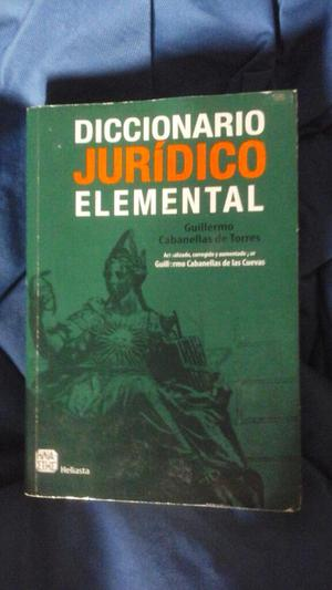 Diccionario Juridoco Elemental