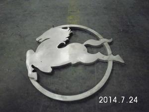 Emblema Parrilla Caballo Camion Pegaso