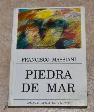 LIBRO PIEDRA DE MAR DE FRANCISCO MASSIANI