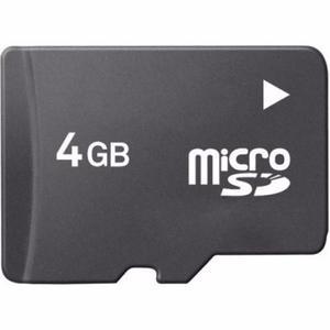 Memoria Micro Sd De 4gb Kingston Y Otras Marcas
