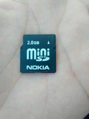 Memoria Mini Sd De 2 Gb