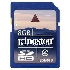 Memoria Sd Kingston 8gb Original Sellada