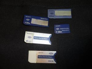 Memory Stick Sony Juego De 6 Piezas