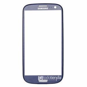 Mica Vidrio Cristal Samsung Galaxy S3 I Azul Metalizado