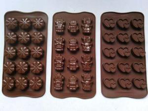 Moldes De Silicon Para Chocolates