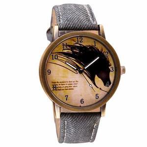 Reloj Caballo - Accesorios Para Hombre - Llanero (gris)