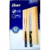 Set De Cuchillos Y Tenedor Con Tabla Oster