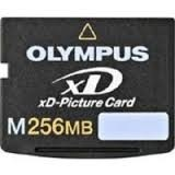Tarjeta De Memoria Xd Olympus 256mb Original Con Su Estuche
